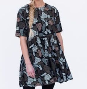 Modern Tunic Dress Pretty Wild by A&D
